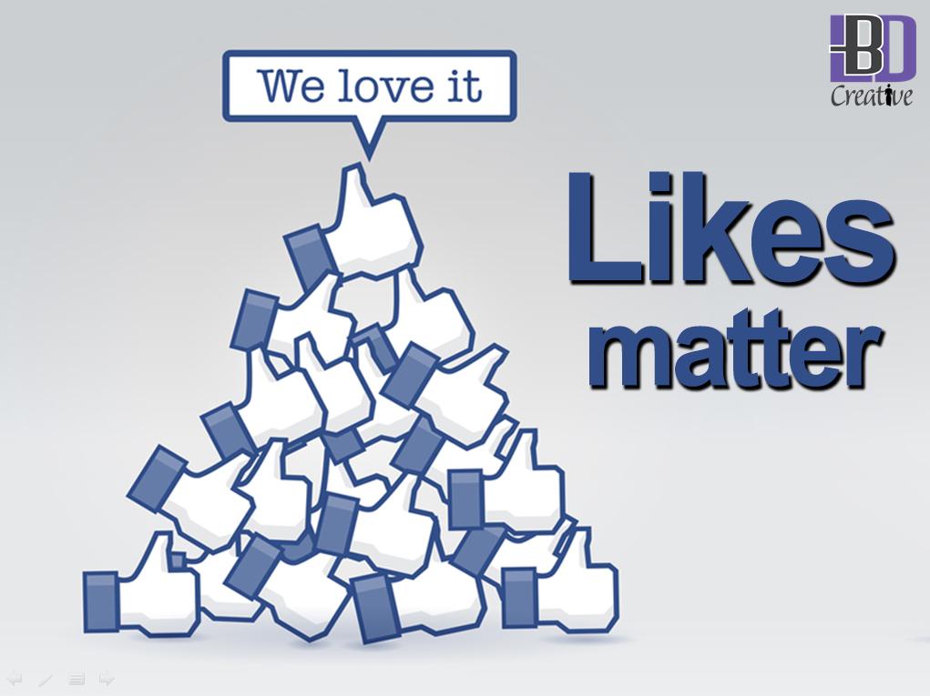 Likes matter