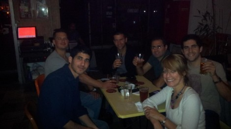 Toasting the imminent release of the Heyku app